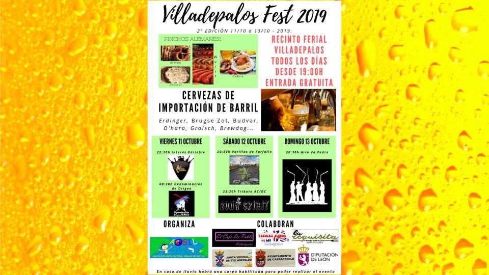 Villadepalos prepara una nueva edición de su particular Oktober Fest: VilladepalosFest 2019 2
