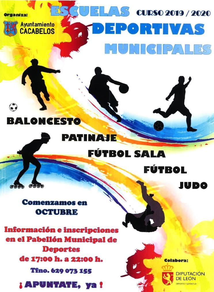 El Ayuntamiento de Cacabelos pone en marcha las actividades de sus escuelas deportivas 2