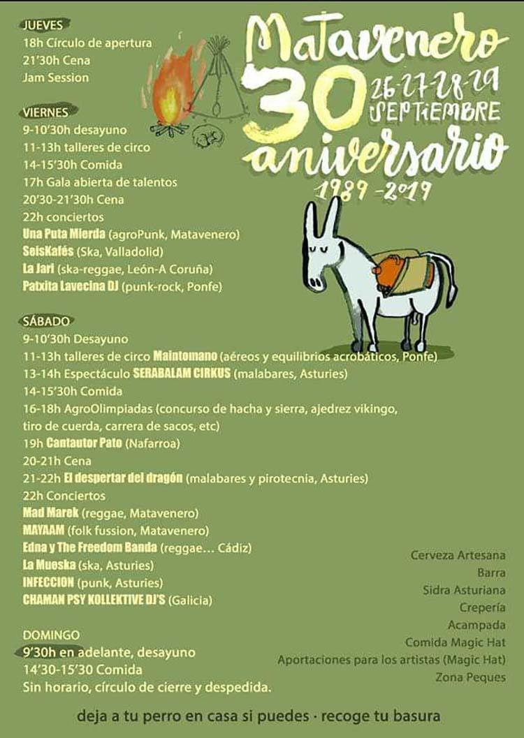 Matavenero celebra el 30 aniversario de su fundación con una gran fiesta 2