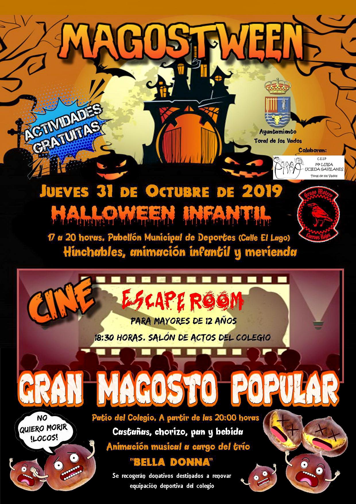 Halloween 2019 en el Bierzo. Actividades para peques y mayores 16