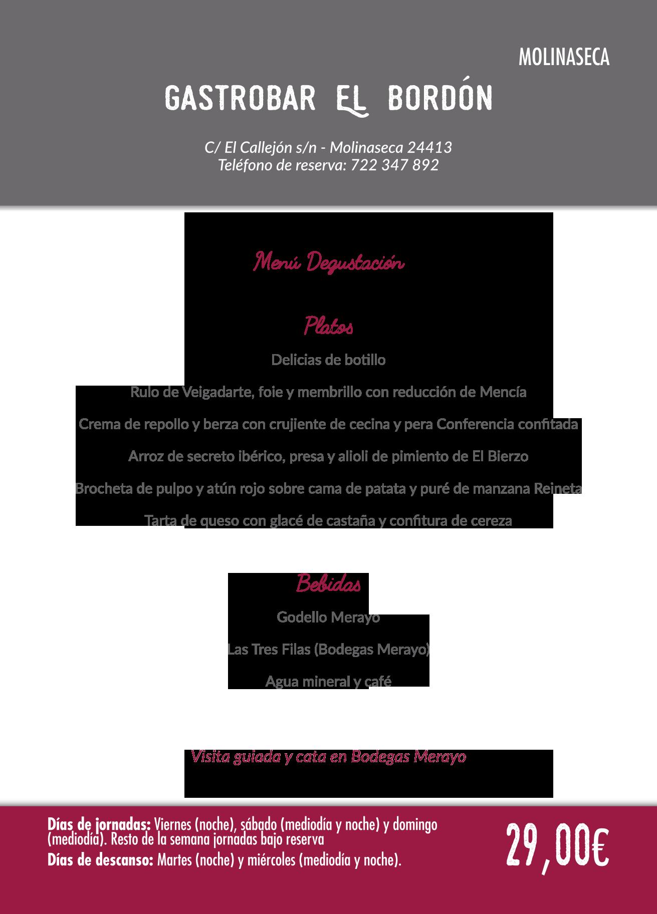 Las Jornadas Gastronómicas del Bierzo llegan a su 35 edición. Consulta los menús de esta edición 3