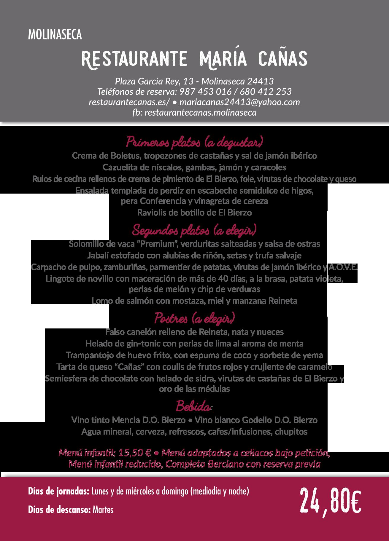 Las Jornadas Gastronómicas del Bierzo llegan a su 35 edición. Consulta los menús de esta edición 4