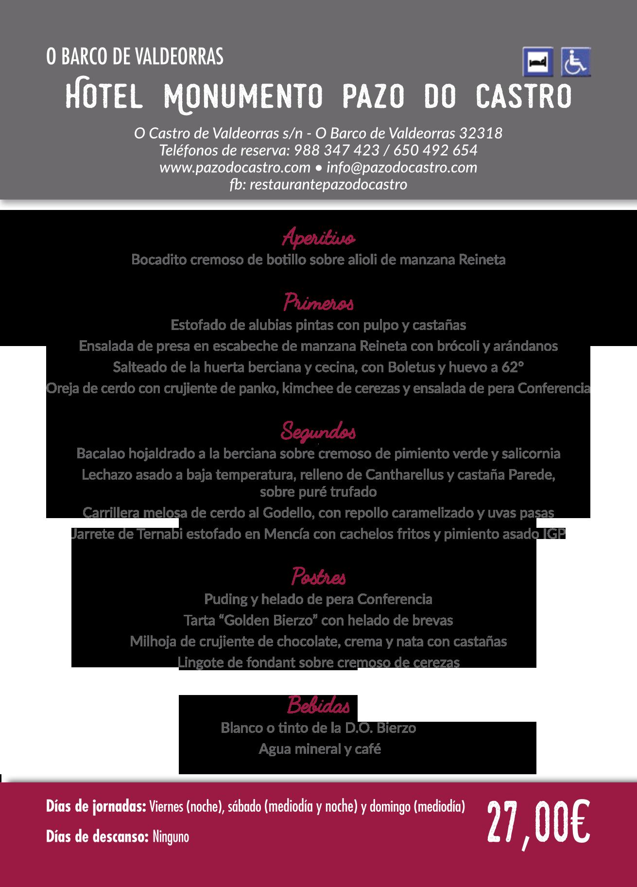 Las Jornadas Gastronómicas del Bierzo llegan a su 35 edición. Consulta los menús de esta edición 6