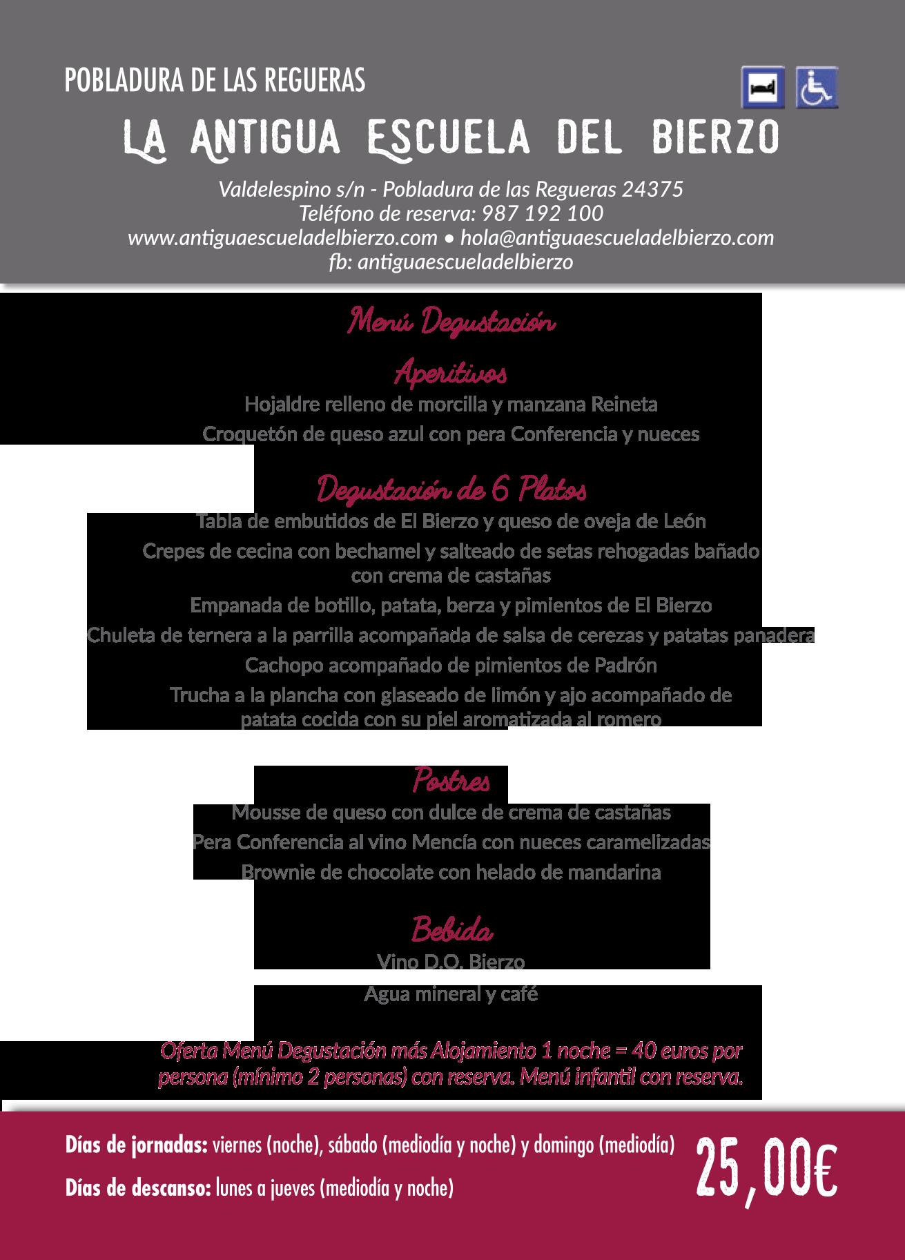 Las Jornadas Gastronómicas del Bierzo llegan a su 35 edición. Consulta los menús de esta edición 8