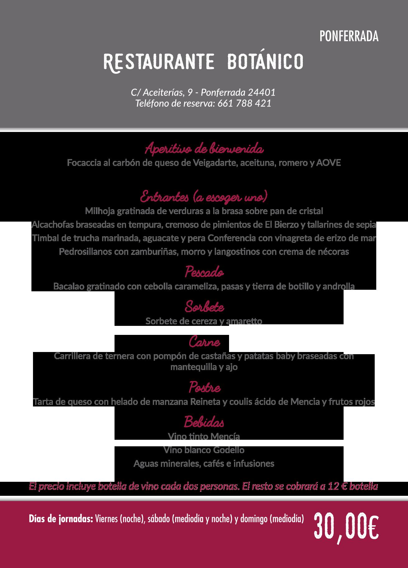 Las Jornadas Gastronómicas del Bierzo llegan a su 35 edición. Consulta los menús de esta edición 9