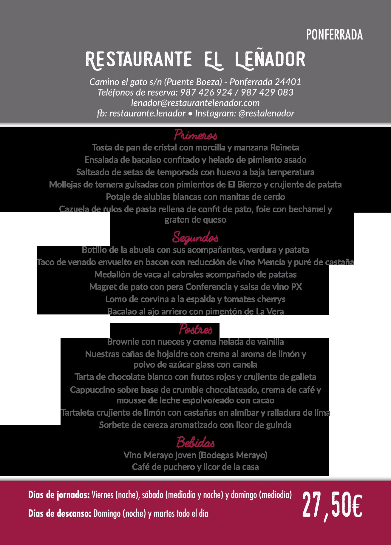 Las Jornadas Gastronómicas del Bierzo llegan a su 35 edición. Consulta los menús de esta edición 14