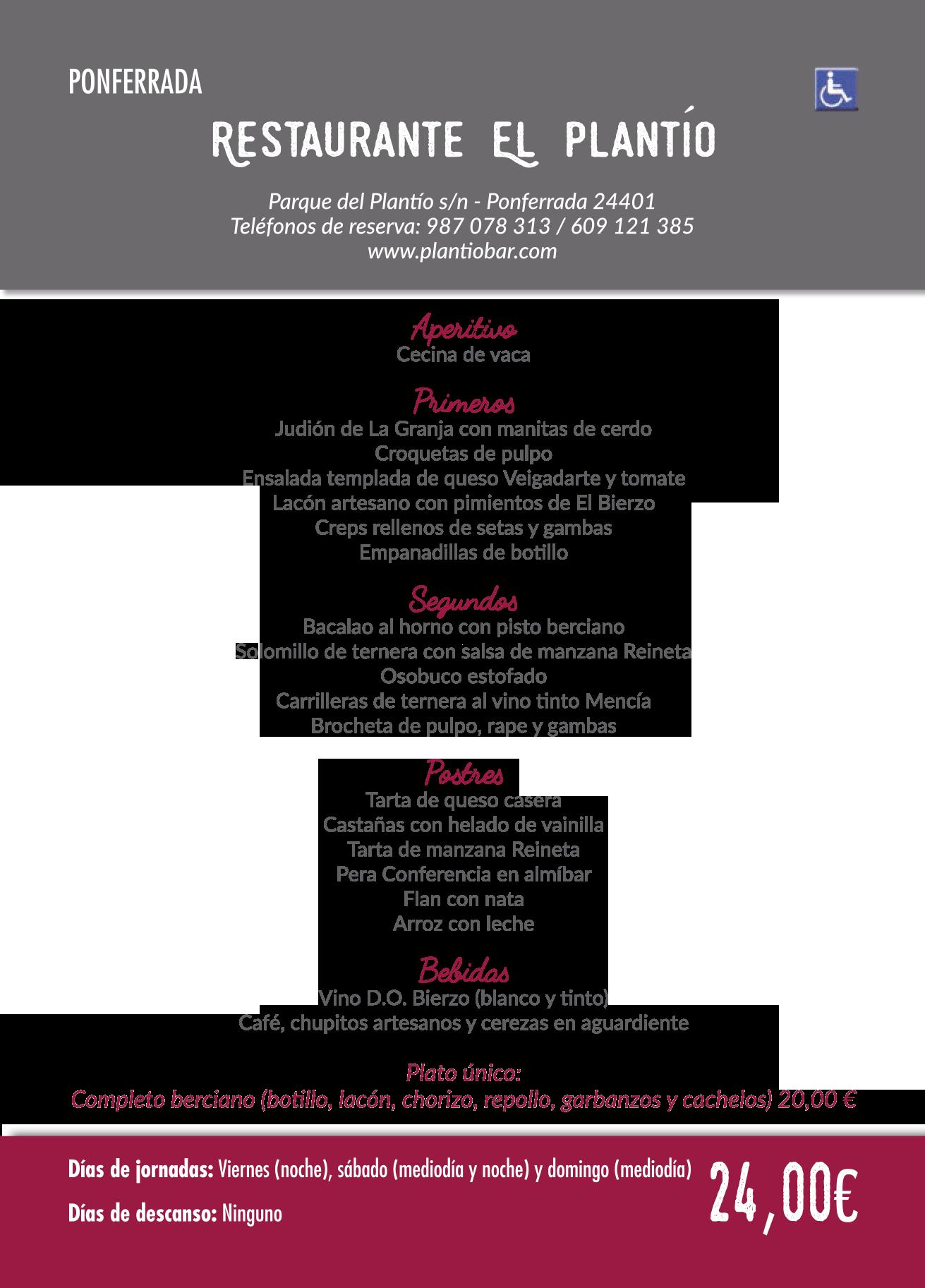Las Jornadas Gastronómicas del Bierzo llegan a su 35 edición. Consulta los menús de esta edición 15