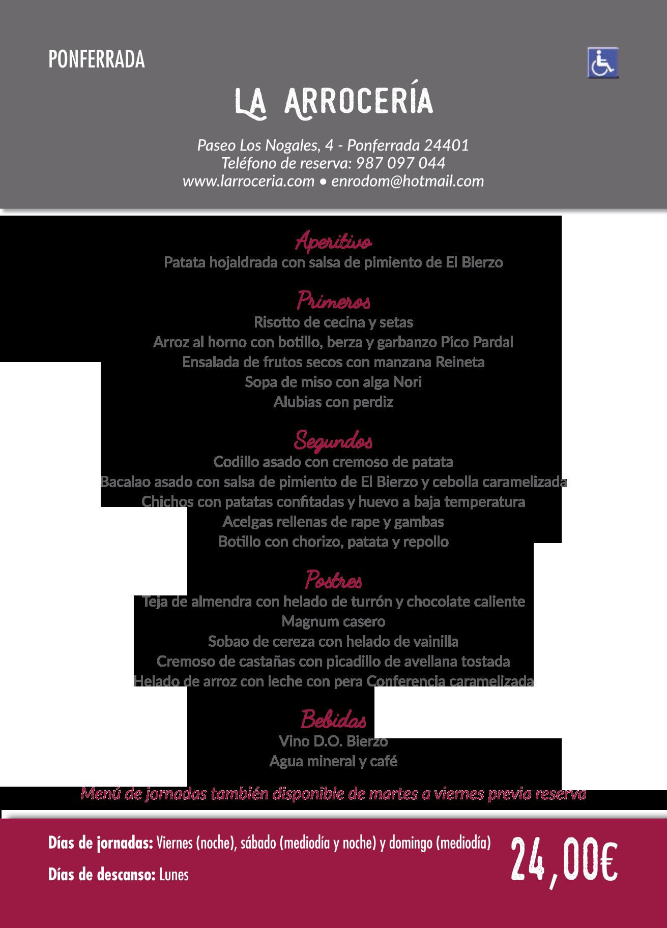 Las Jornadas Gastronómicas del Bierzo llegan a su 35 edición. Consulta los menús de esta edición 17