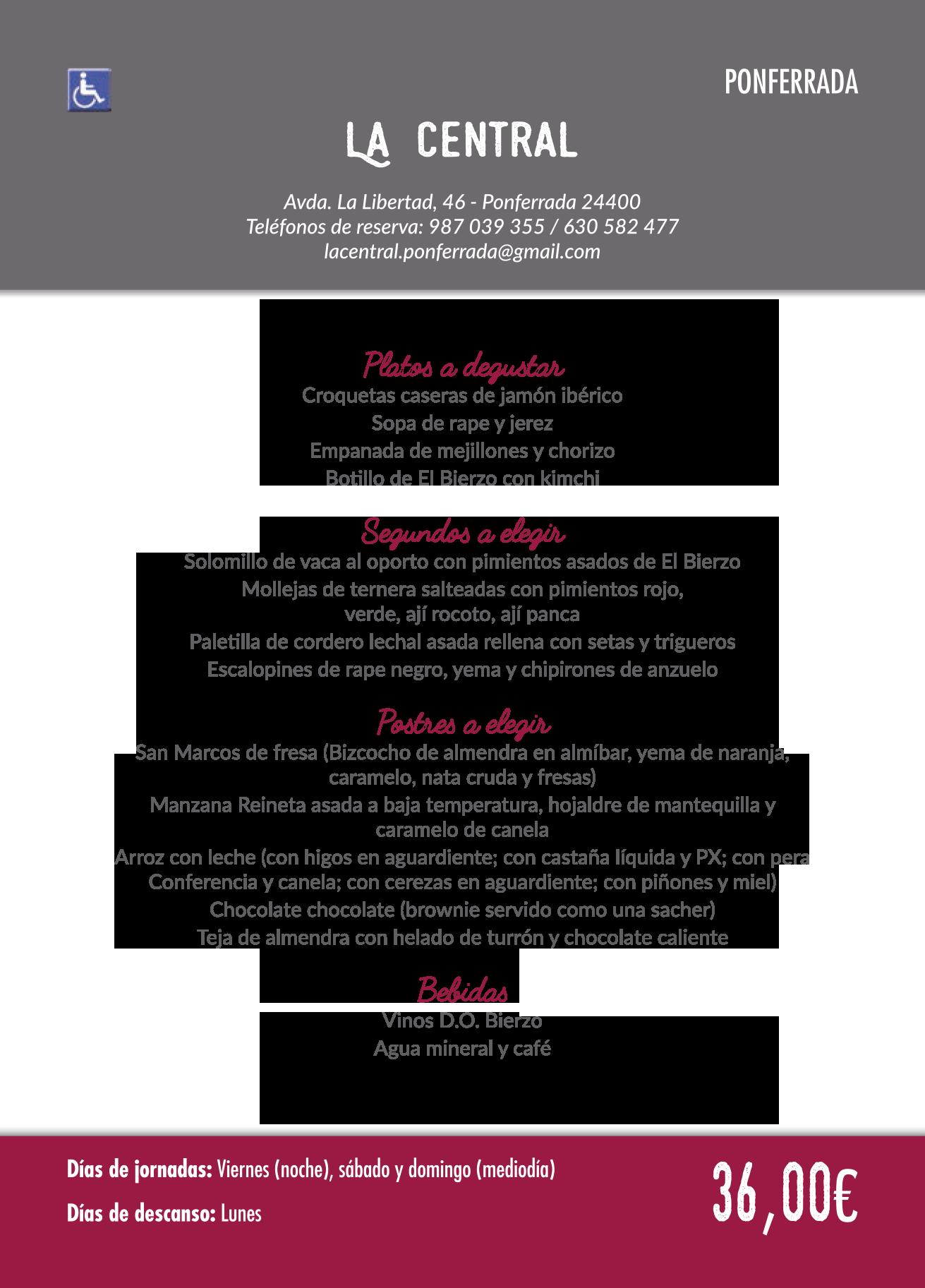 Las Jornadas Gastronómicas del Bierzo llegan a su 35 edición. Consulta los menús de esta edición 20