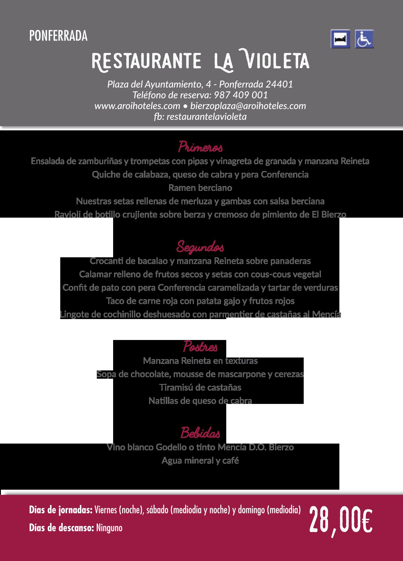 Las Jornadas Gastronómicas del Bierzo llegan a su 35 edición. Consulta los menús de esta edición 21