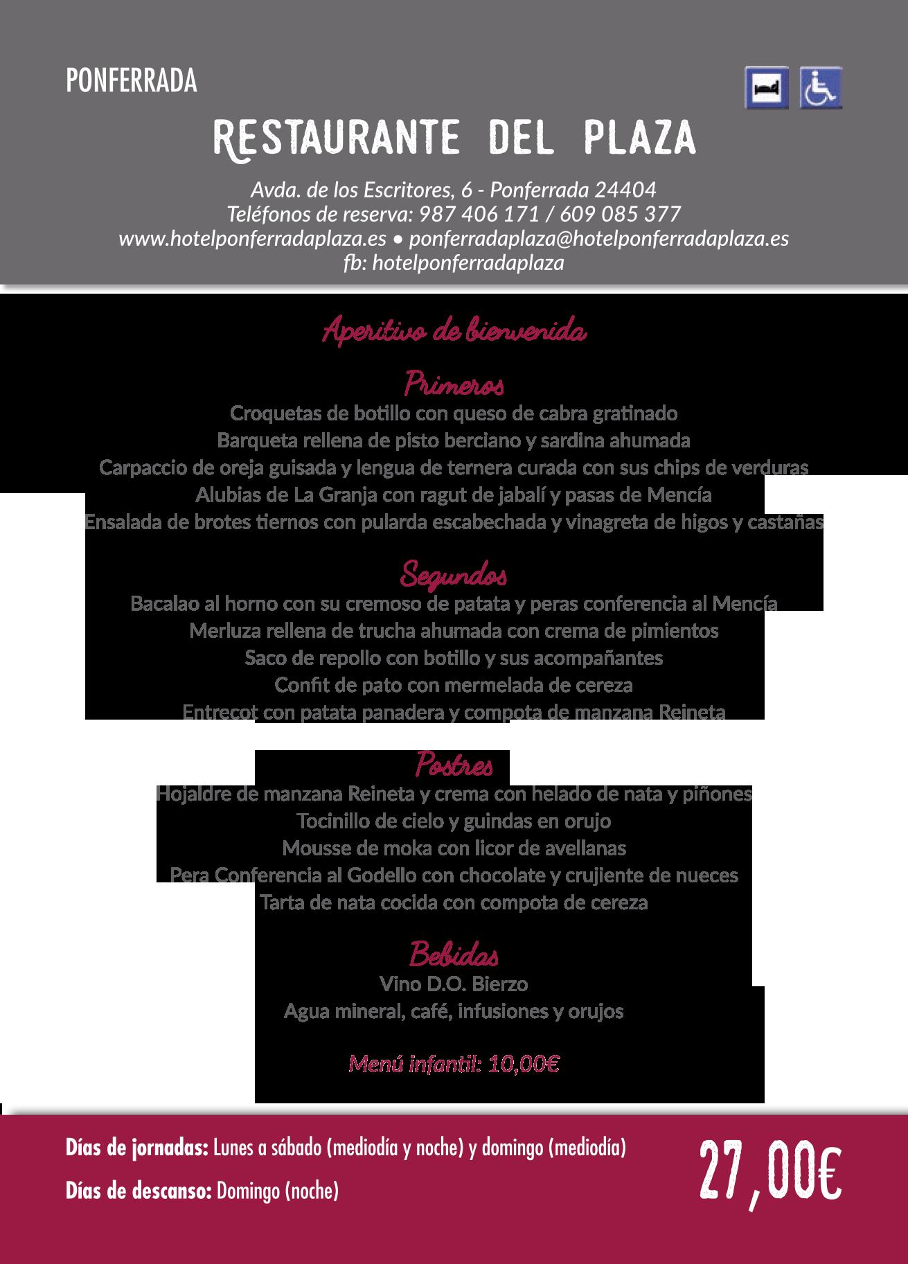 Las Jornadas Gastronómicas del Bierzo llegan a su 35 edición. Consulta los menús de esta edición 23