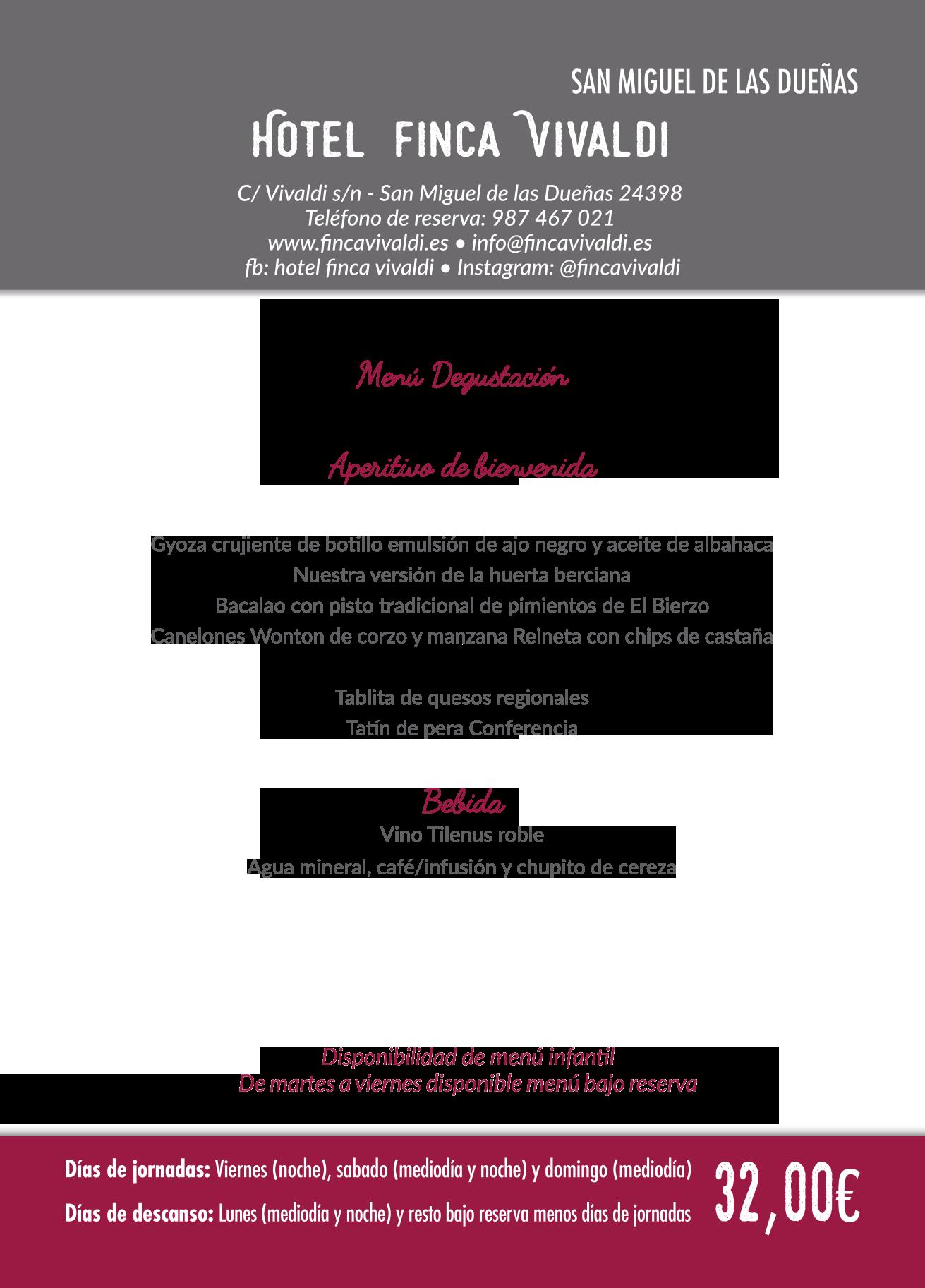 Las Jornadas Gastronómicas del Bierzo llegan a su 35 edición. Consulta los menús de esta edición 27