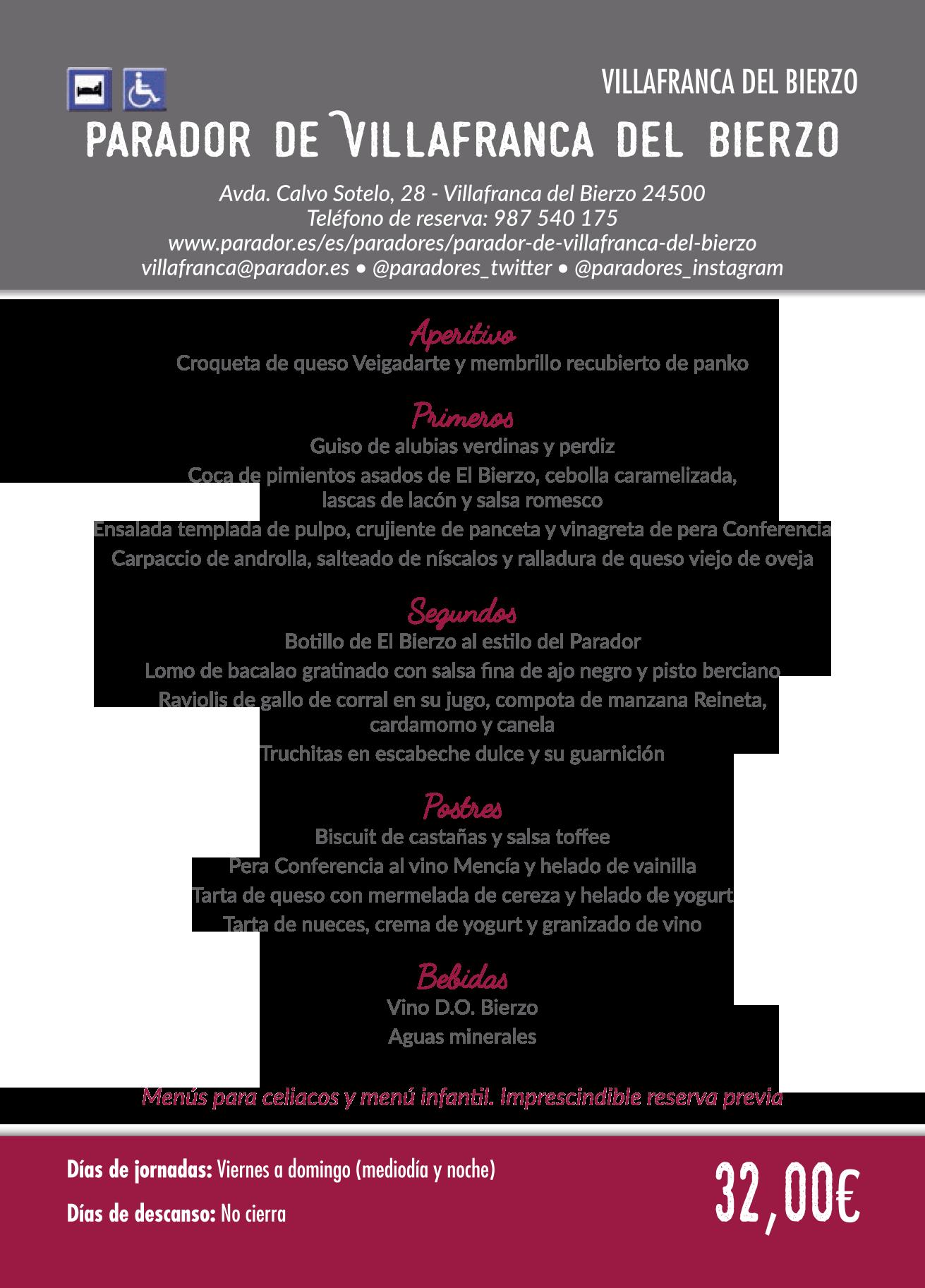 Las Jornadas Gastronómicas del Bierzo llegan a su 35 edición. Consulta los menús de esta edición 31