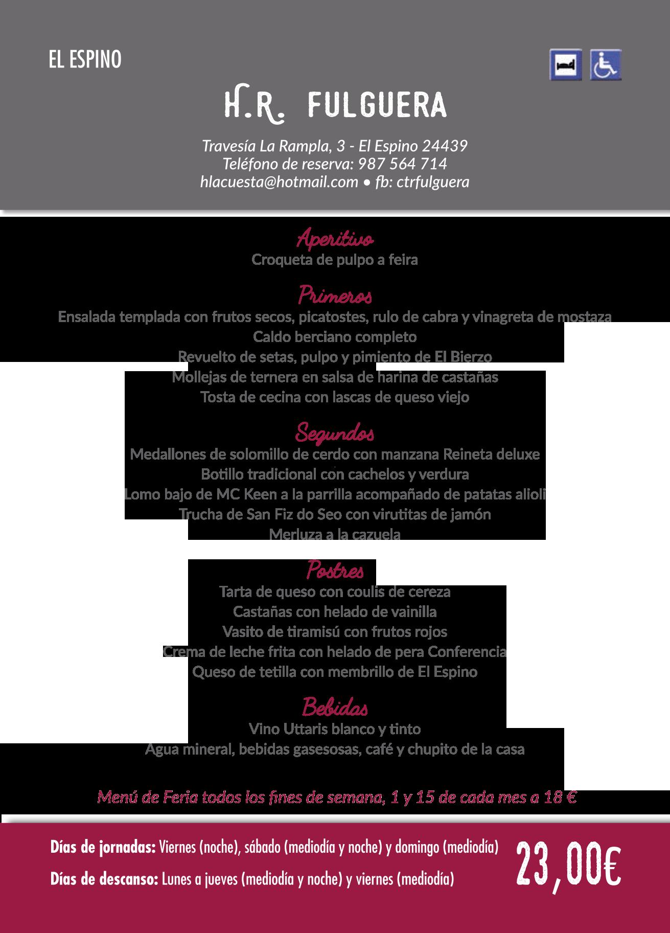 Las Jornadas Gastronómicas del Bierzo llegan a su 35 edición. Consulta los menús de esta edición 34