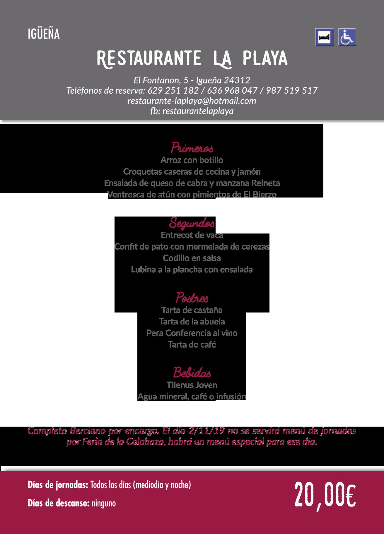 Las Jornadas Gastronómicas del Bierzo llegan a su 35 edición. Consulta los menús de esta edición 36