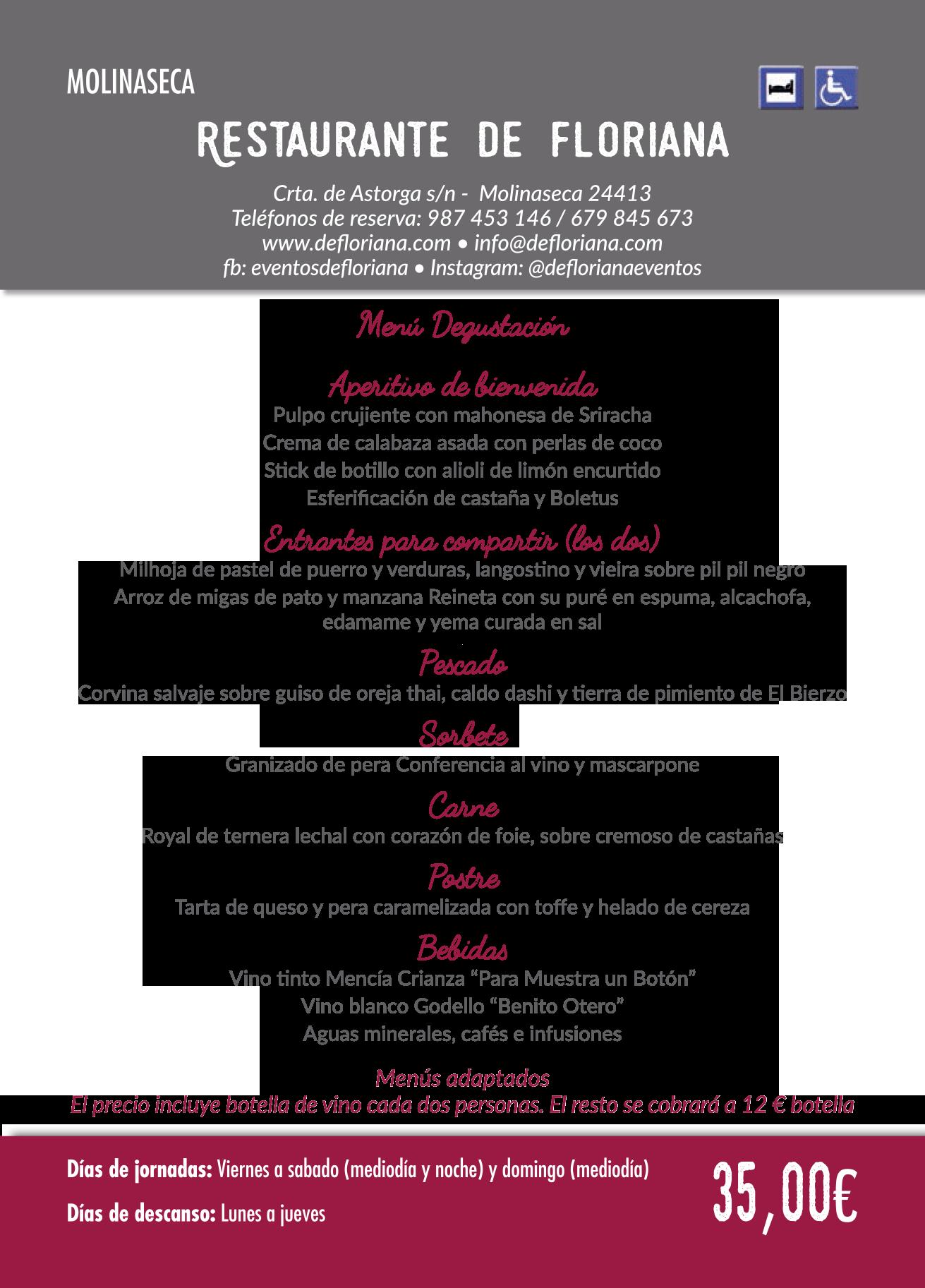 Las Jornadas Gastronómicas del Bierzo llegan a su 35 edición. Consulta los menús de esta edición 38