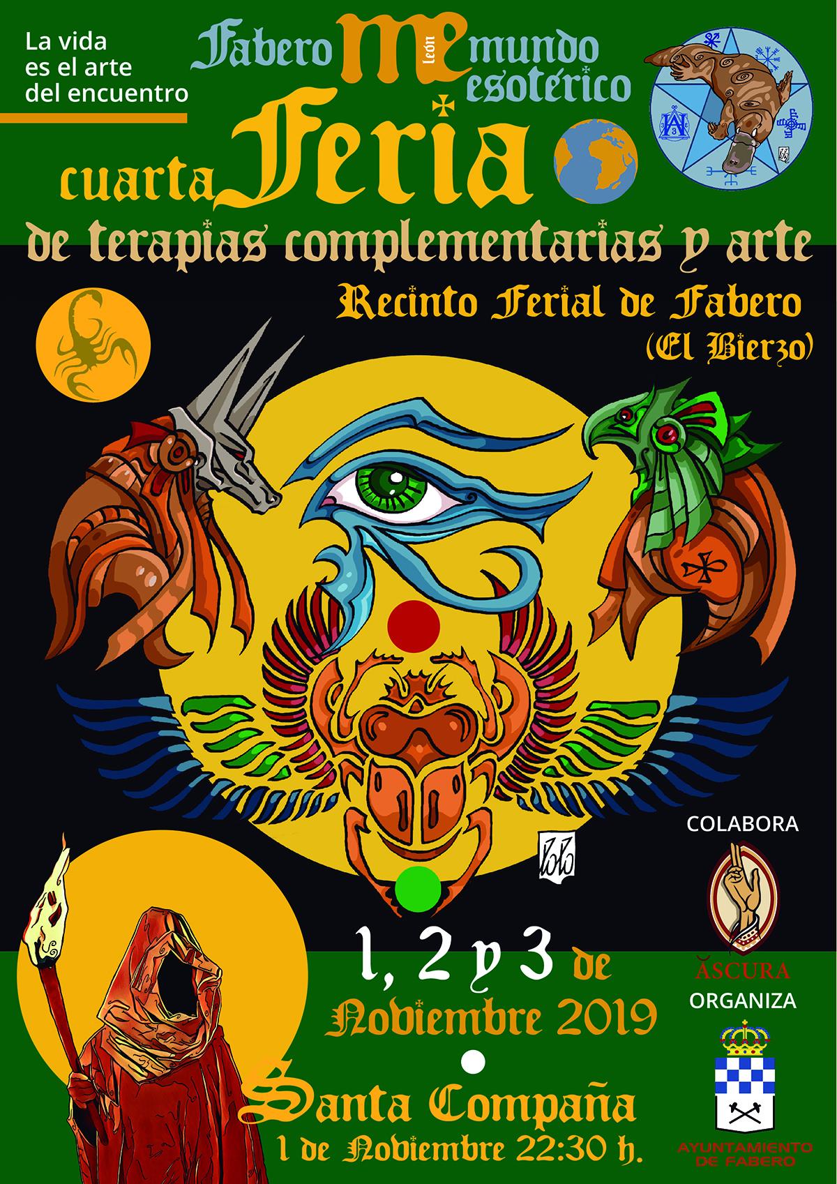 IV Feria de Terapias Complementarias y Arte de Fabero. Actividades y talleres 2