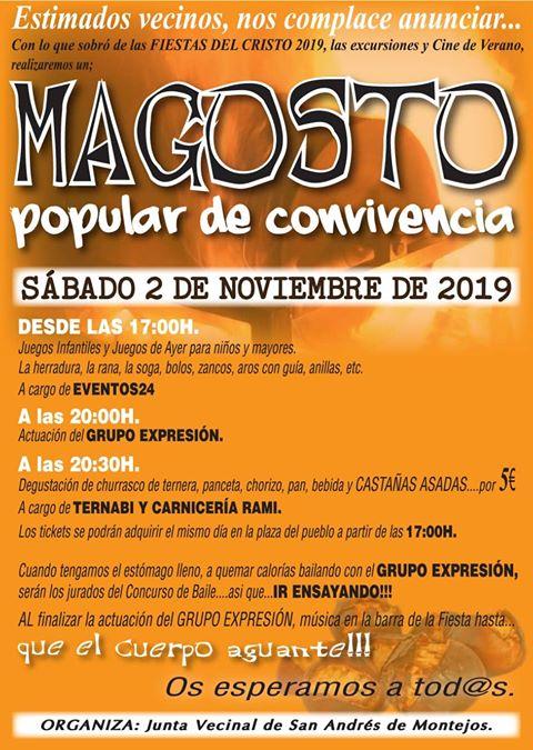 Magosto en San Andrés de Montejos. 2 de noviembre 2019 2