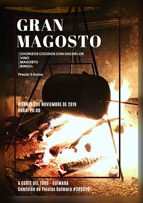 Gran Magosto en Guímara. 1 de noviembre 2019 2