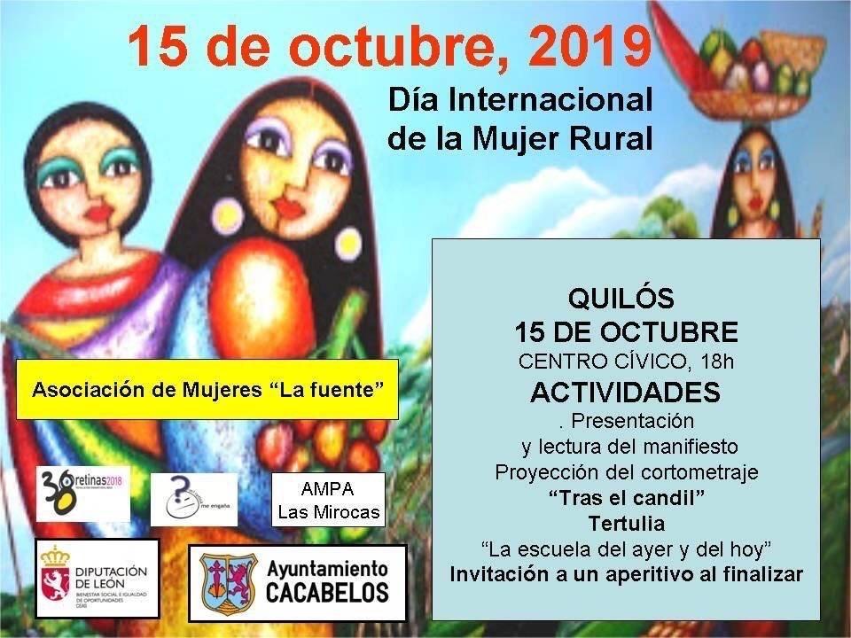 Quilós celebra el Día internacional de la mujer rural