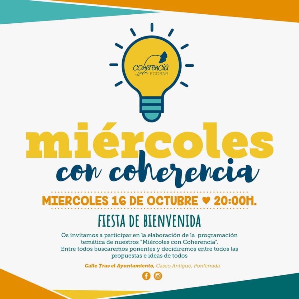 Actividades en Coherencia Bar para esta semana 2