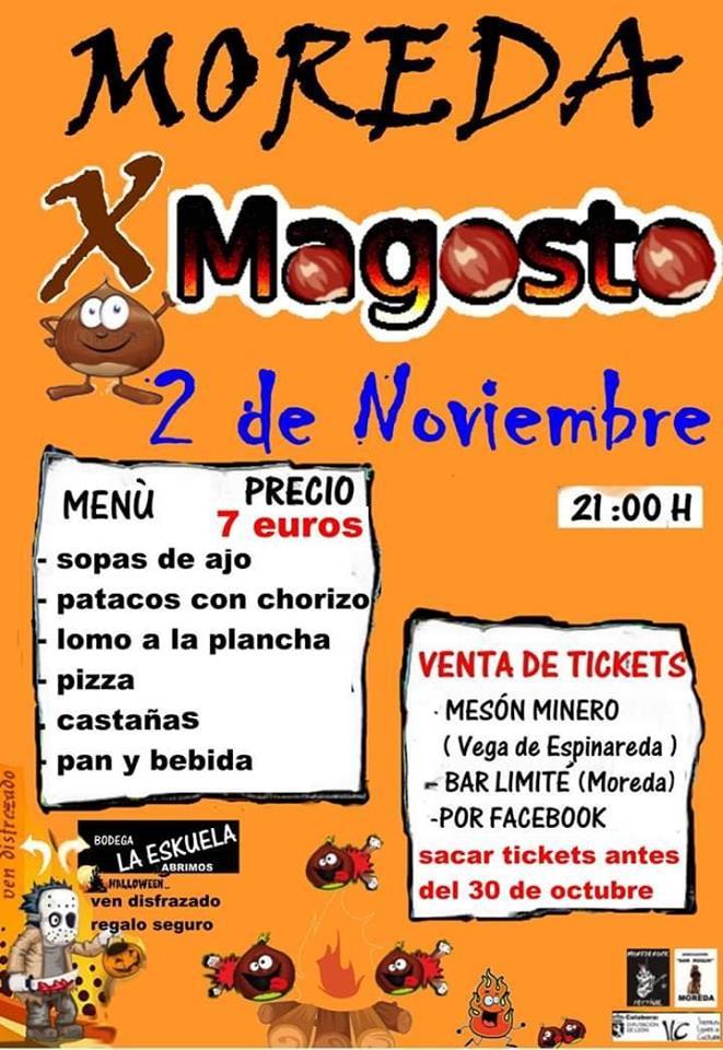 X Magosto popular en Moreda. 2 de noviembre 2019 2