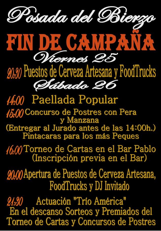 Planes para el fin de semana en Ponferrada y El Bierzo. 25 al 27 de octubre 2019 3