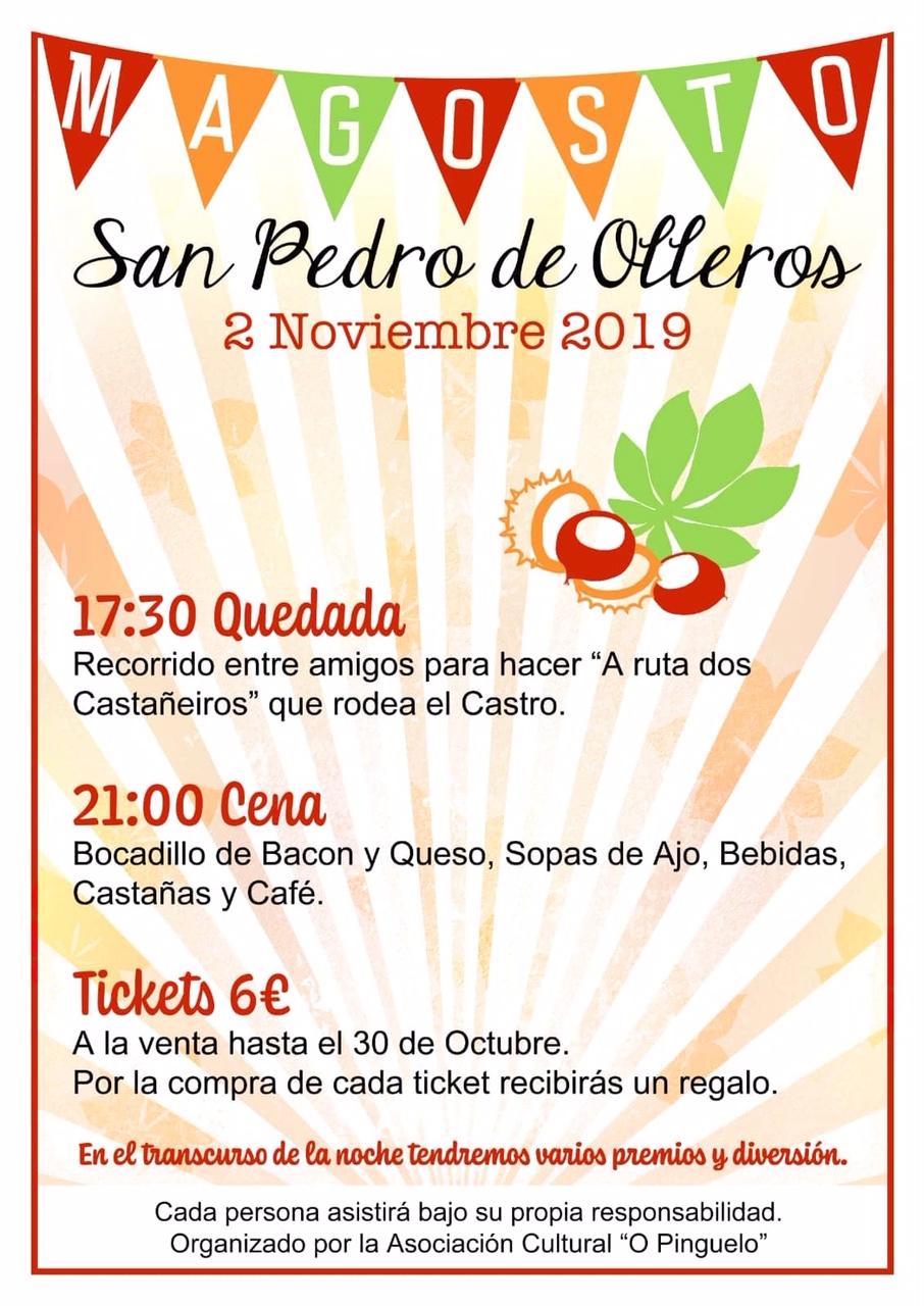 Gran Magosto en San Pedro de Olleros. 2 de noviembre 2019 2