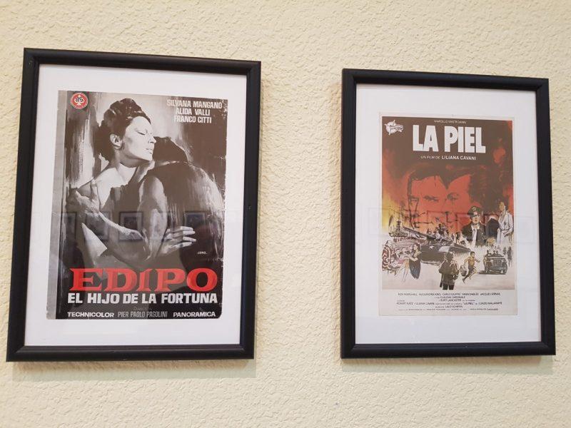 Exposición de Carteles de cine italiano en la Casa de la Cultura de Ponferrada