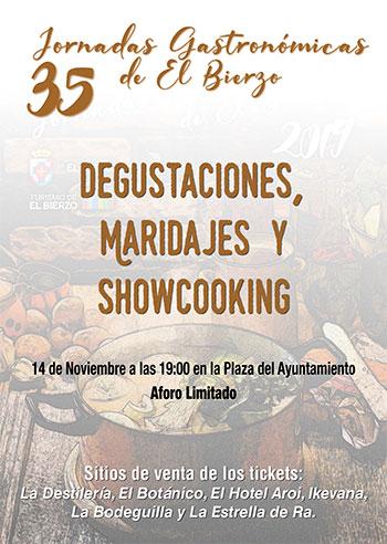 Las Jornadas Gastronómicas salen a la calle con un showcooking en la Plaza del Ayuntamiento de Ponferrada 2