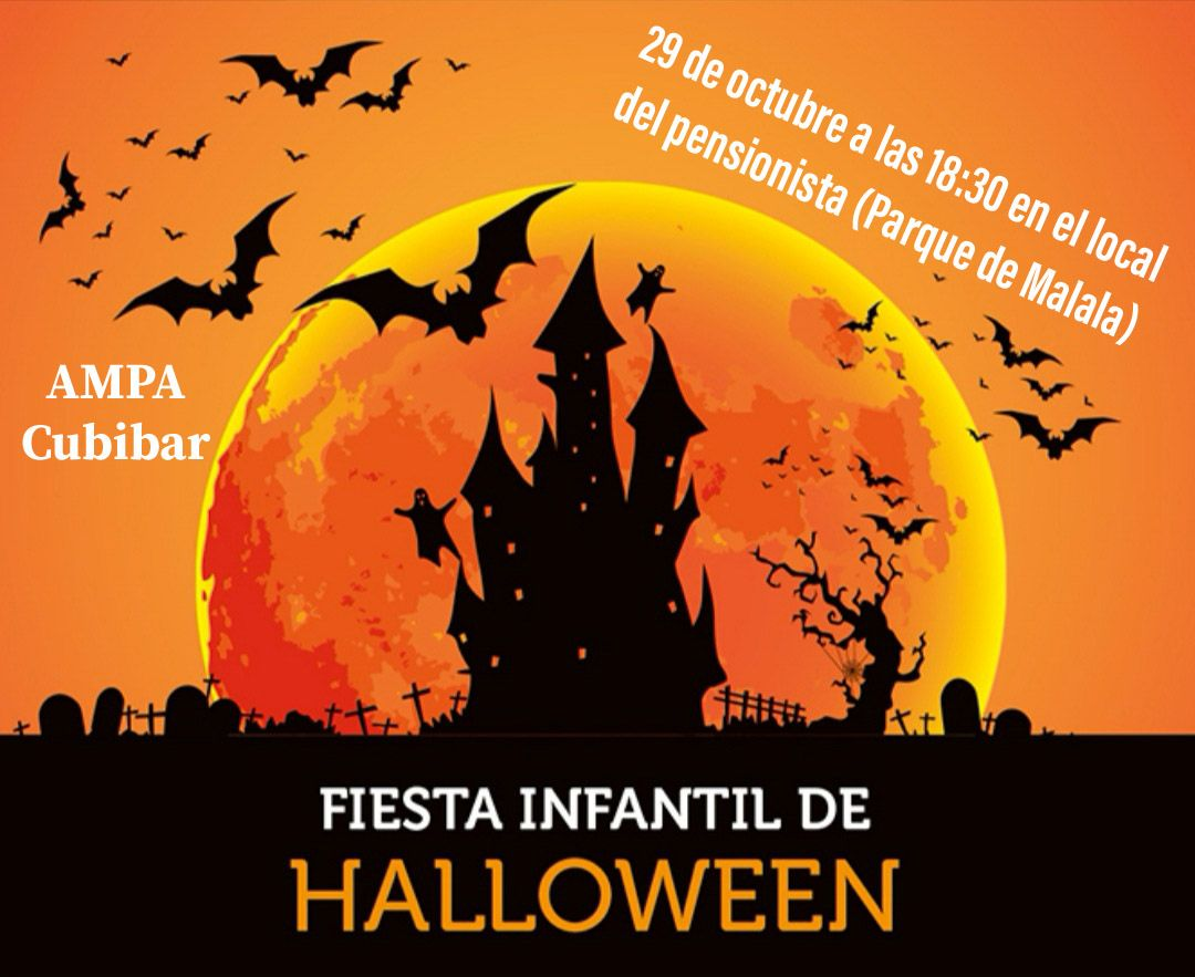 Fiesta infantil de Halloween y magosto en Cubillos del Sil para el puente de los Santos 2