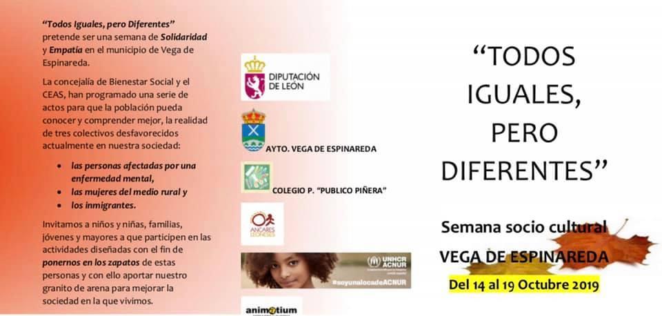 Semana Socio-Cultural en Vega de Espinareda. Programa 2019 2