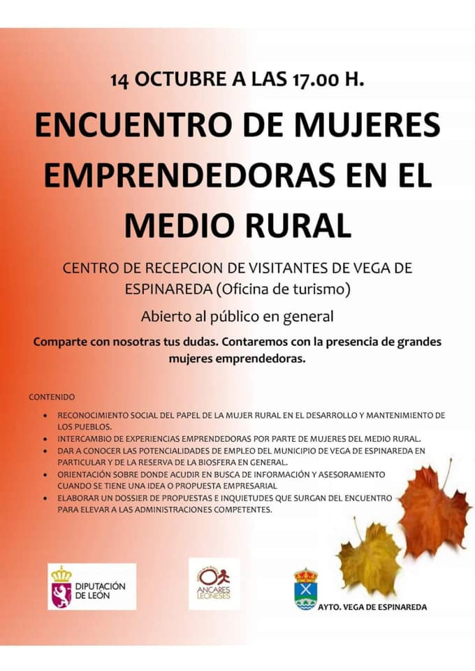 Semana Socio-Cultural en Vega de Espinareda. Programa 2019 4