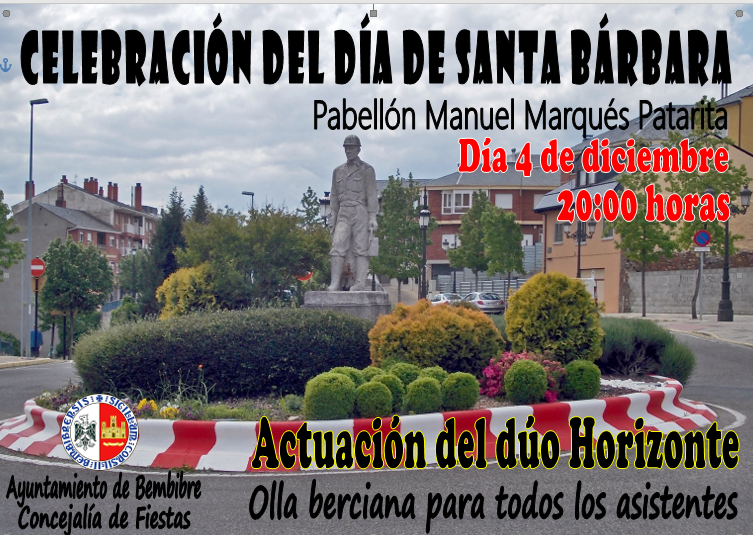 Bembibre celebra Santa Bárbara orgullosos de su pasado 2