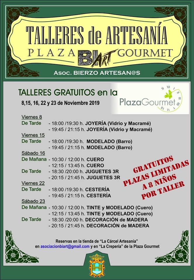 Planes de ocio para el fin de semana en el Bierzo. 22 al 24 de noviembre 2019 6
