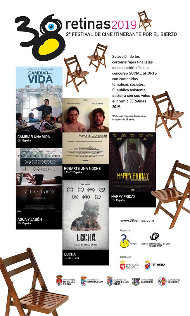 El II festival de cine itinerante por El Bierzo pasea proyecciones de temática social a diferentes localidades de la comarca 2