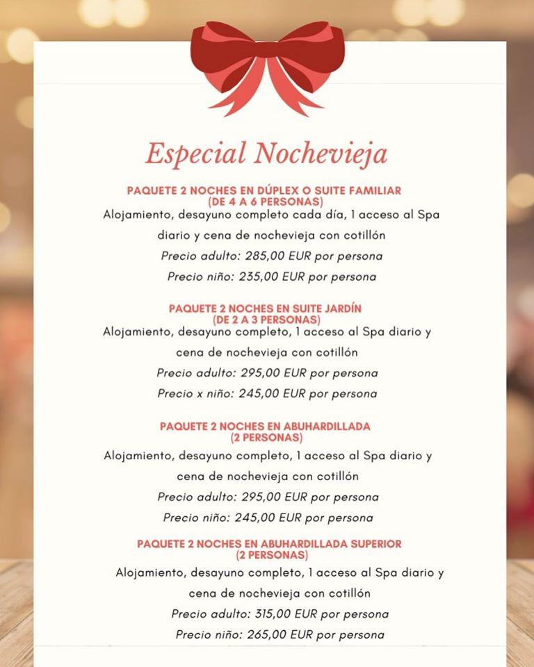 Cenas y cotillones de Nochevieja en el Bierzo para despedir 2019 11