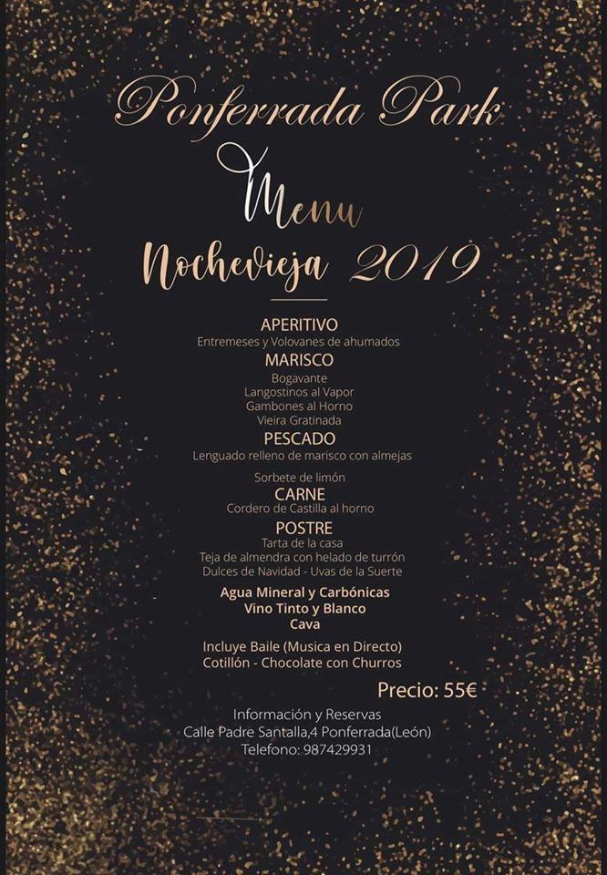 Cenas y cotillones de Nochevieja en el Bierzo para despedir 2019 4