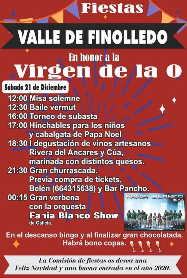 Fiestas en honor a la Virgen de la O en Valle de Finolledo 2