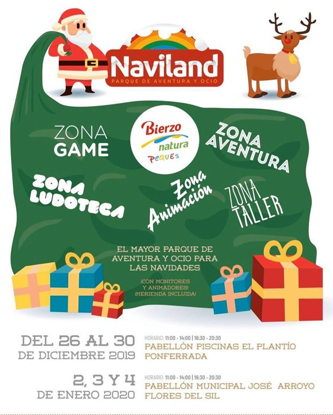 llega Naviland Ponferrada, el gran parque de ocio infantil para las navidades 2