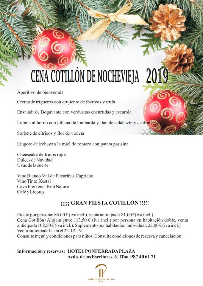 Cenas y cotillones de Nochevieja en el Bierzo para despedir 2019 3