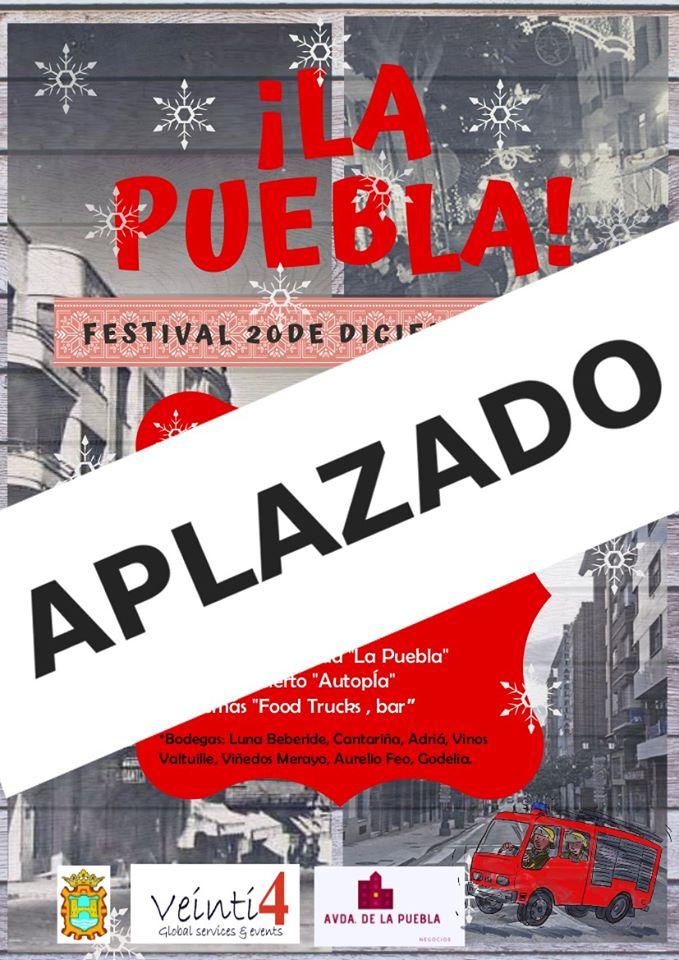 ☔Aplazado el Festival de la Avenida de la Puebla ☔ 2