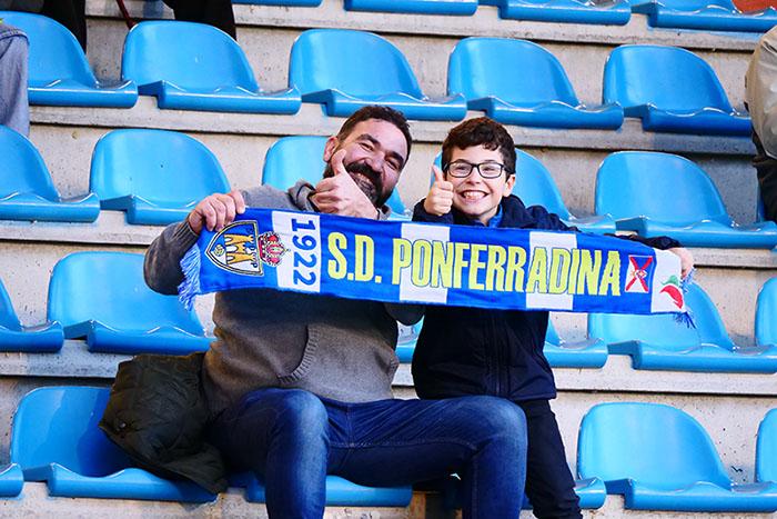 Las fotos del Partido SD Ponferradina - RC Deportivo de la Coruña 21