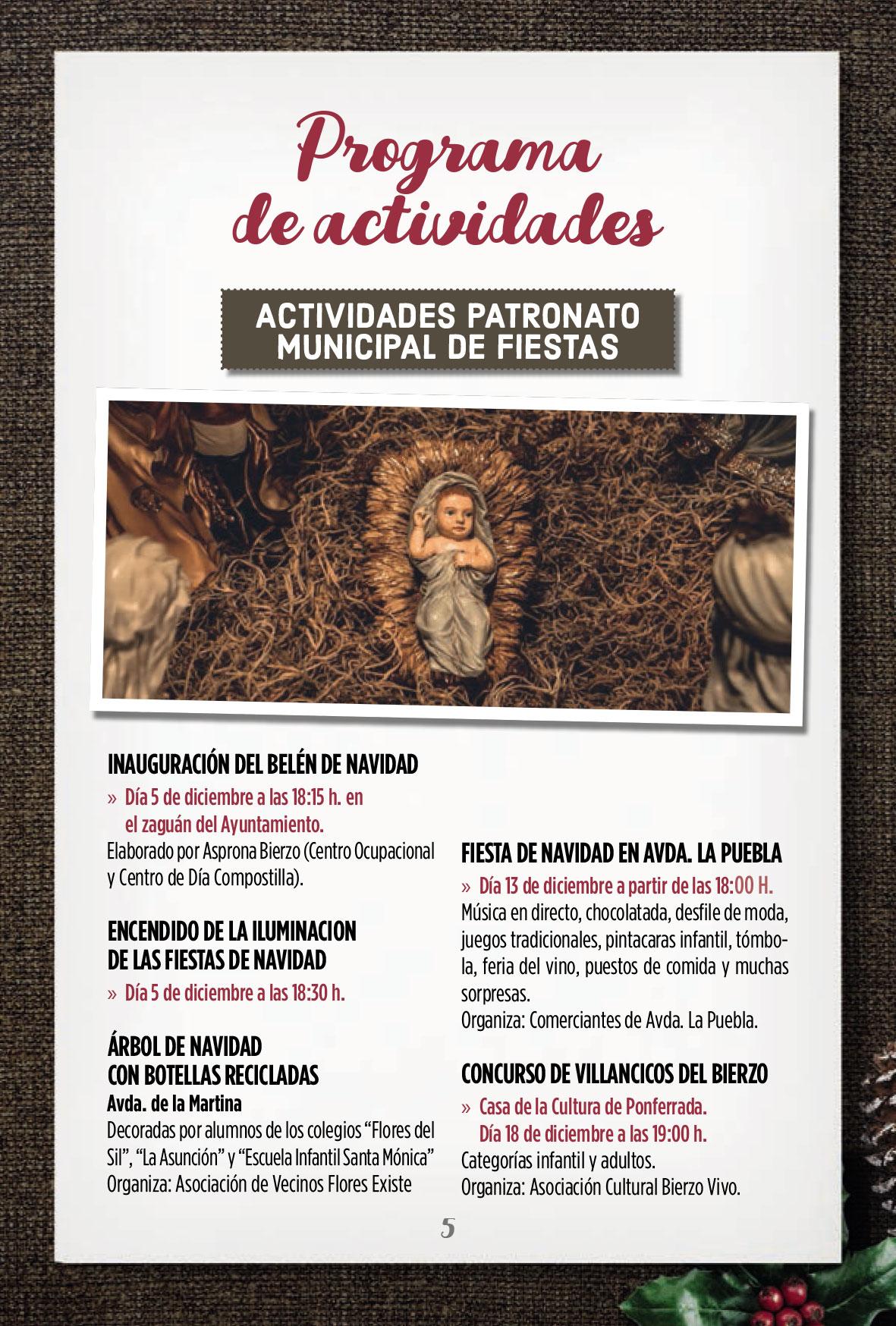 Programa de Navidad en Ponferrada 2019/2020 3
