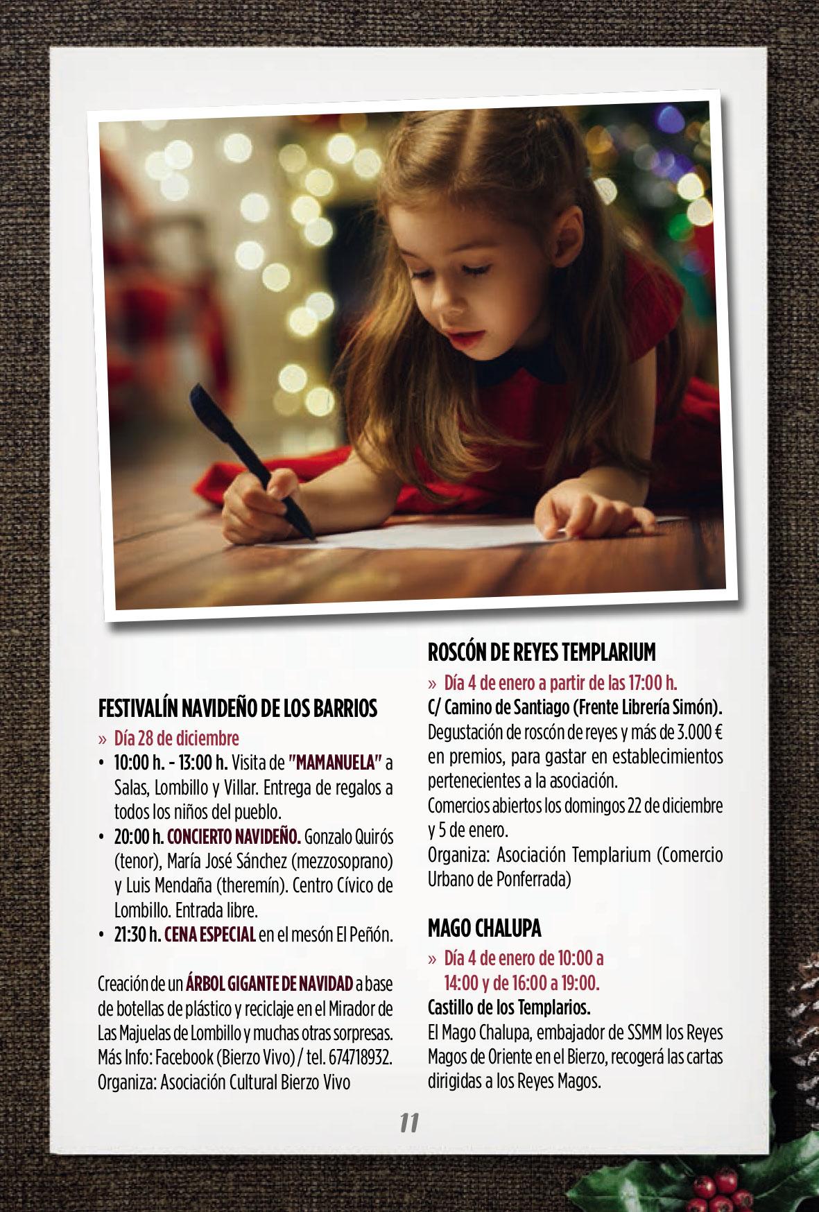 Programa de Navidad en Ponferrada 2019/2020 8