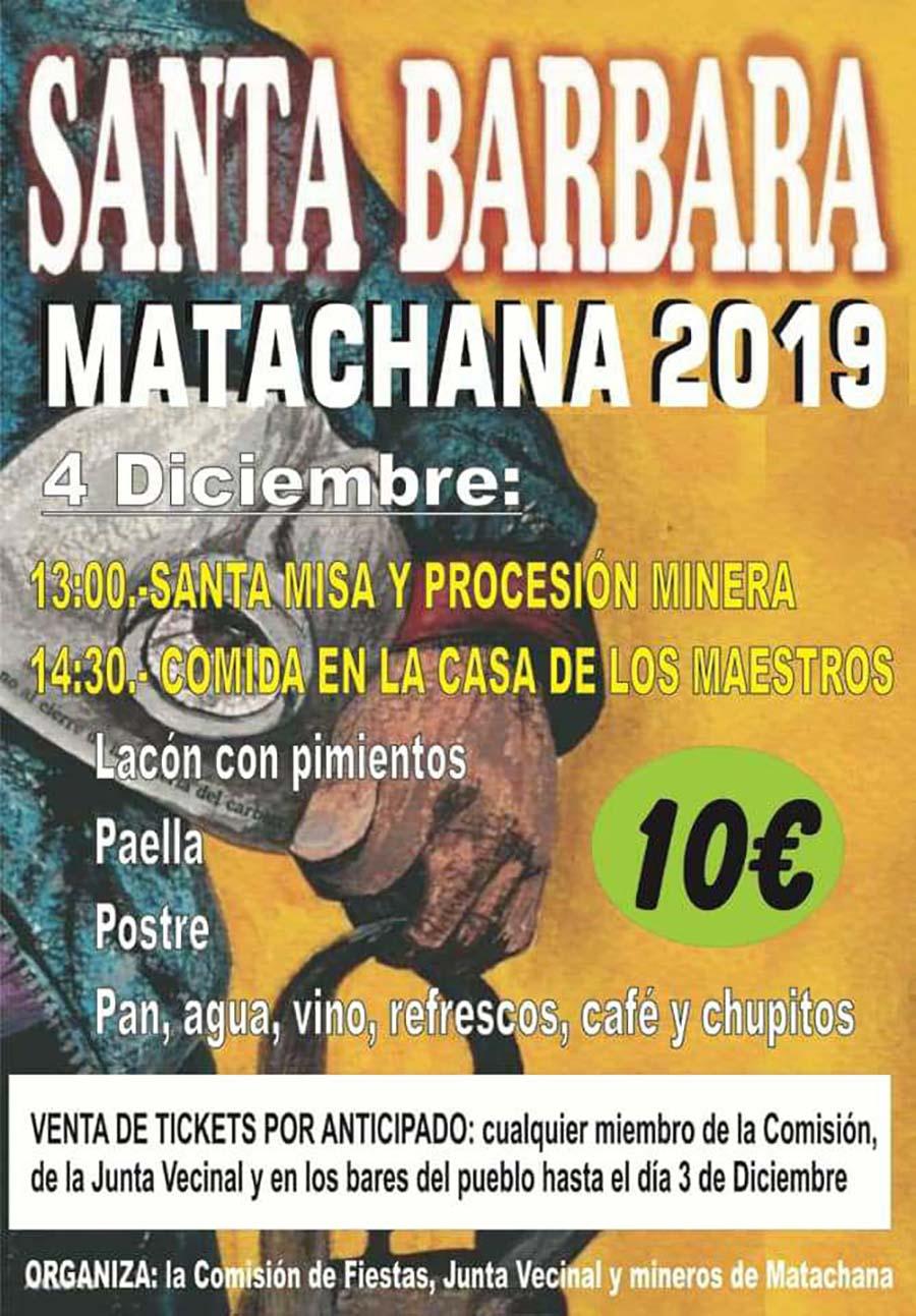 Matachana celebra Santa Bárbara 2019 2