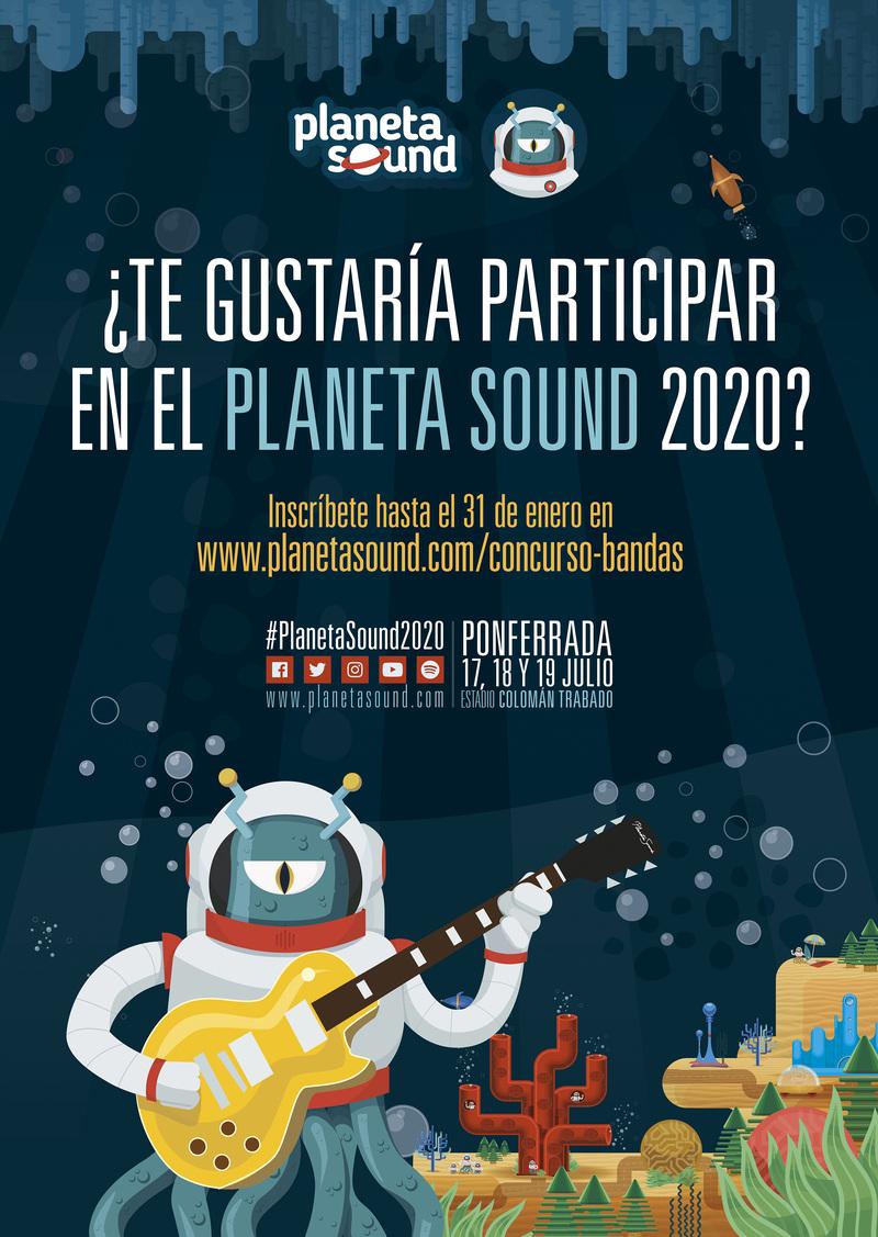 Planeta Sound anuncia conciertos a lo largo de 2020 y el Concurso de Bandas Emergentes 2