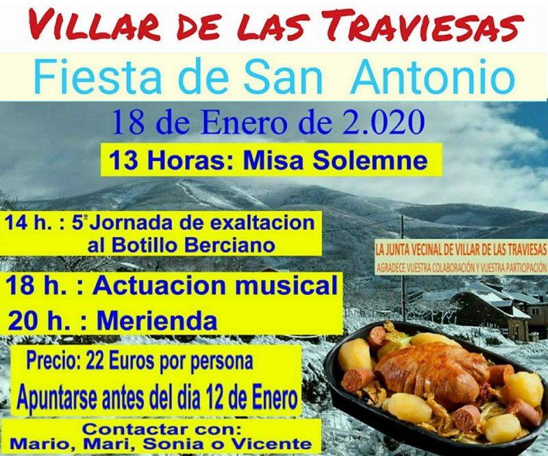 Villar de las Traviesas celebra la Fiesta de San Antonio con la 5ª exaltación del Botillo 2