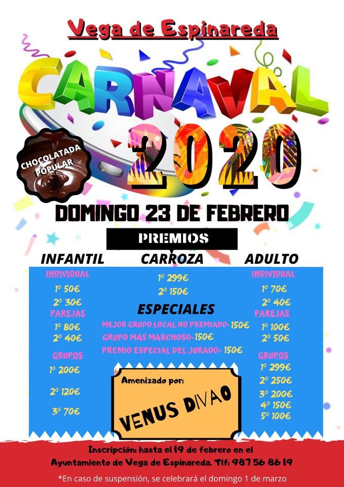 Carnaval 2020 en Vega de Espinareda 2