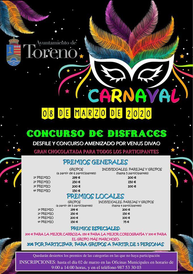 Carnaval 2020 en Toreno 2